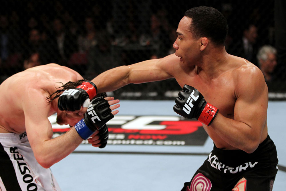 Dodson vs Tim Elliot, 5/5/12 (Photo by Josh Hedges/Zuffa LLC)