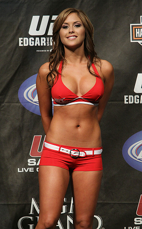 Brittney Palmer - Official UFC® Octagon Girl Profile Profile
