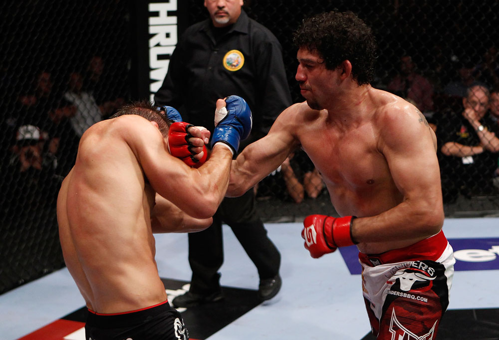 UFC lightweight Gilbert Melendez