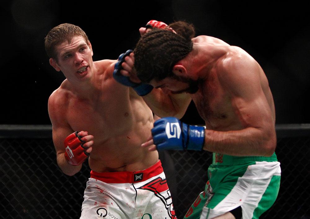 UFC welterweight Jordan Mein