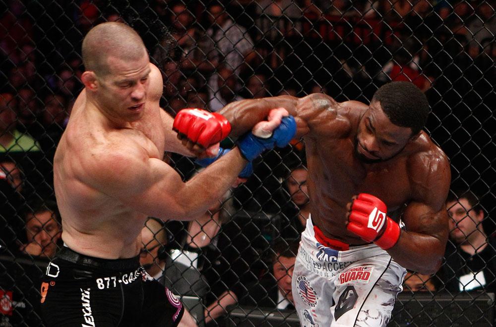 UFC welterweight Tyron Woodley