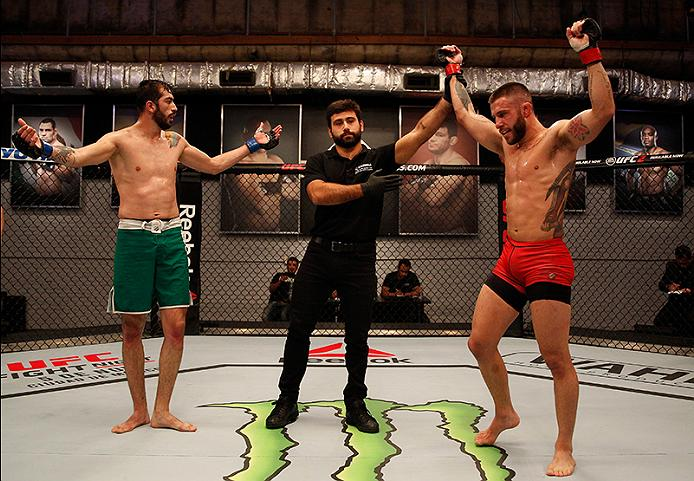The Ultimate Fighter LATAM--Marcelo Rojo of Team Liddell wins over Team Griffin's John Bedoya