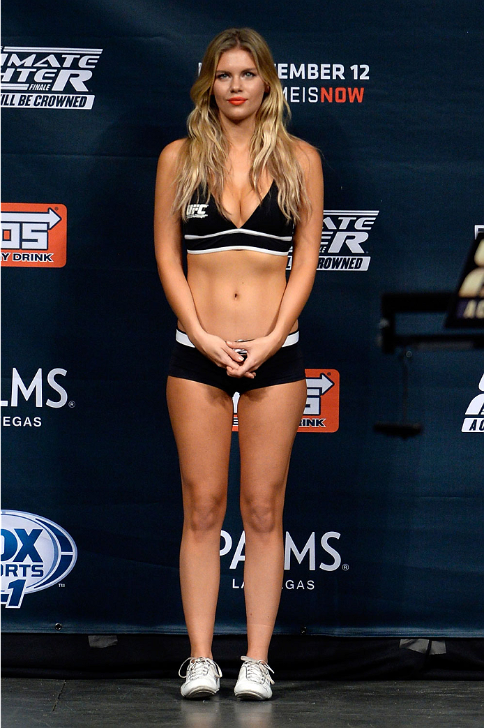 Agree, rather Ufc ring girls chrissy blair join