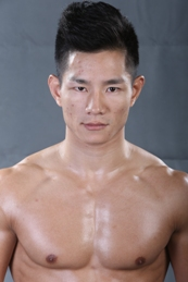 Featherweight: Yang Jian Ping (6-3), 24, born in Hunan, fighting out of Beijing