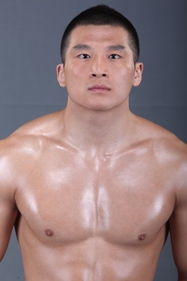 Welterweight: Zhang Lipeng (6-7), 23, born in Inner Mongolia, fighting out of Beijing.