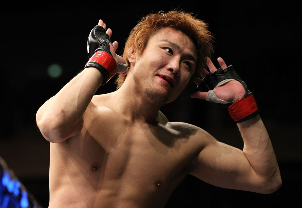 UFC lightweight Takanori Gomi