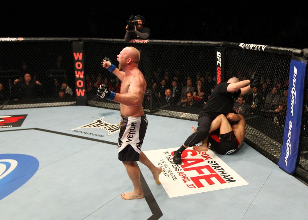 UFC middleweight Tim Boetsch