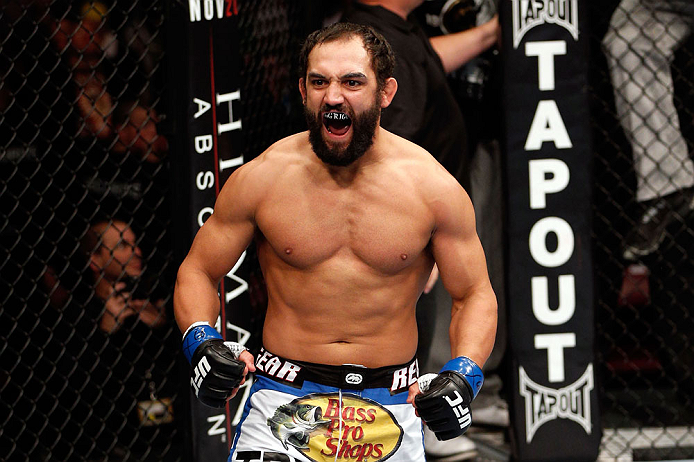 UFC welterweight Johny Hendricks