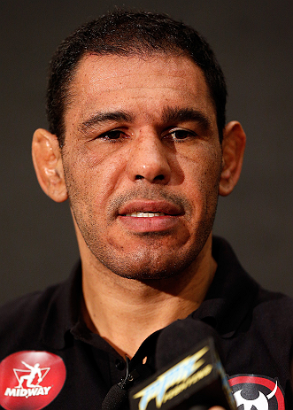 LAS VEGAS, NV - JANUARY 31:  Antonio Rogerio Nogueira interacts with media during the UFC 156 Ultimate Media Day on January 31, 2013 at the Mandalay Bay in Las Vegas, Nevada.  (Photo by Josh Hedges/Zuffa LLC/Zuffa LLC via Getty Images)