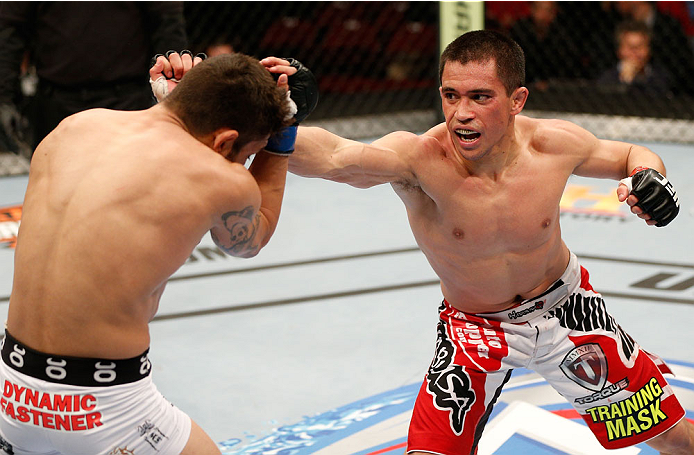 UFC flyweight Chris Cariaso