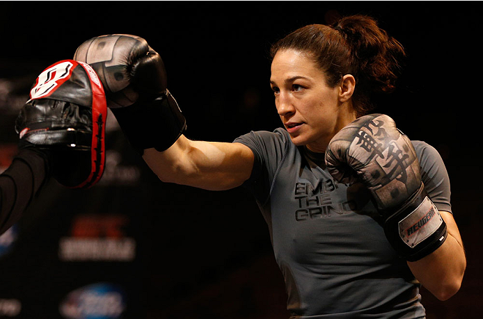 UFC bantamweight Sara McMann