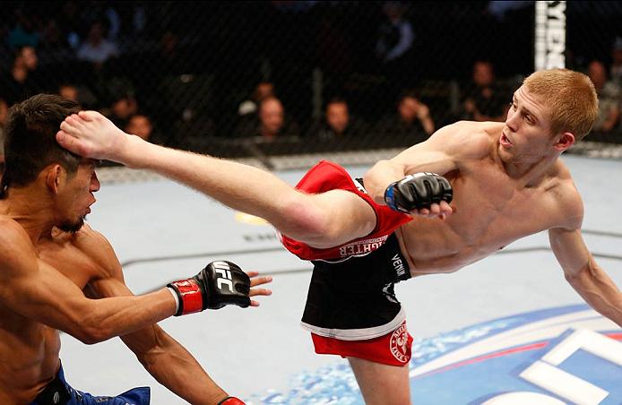 UFC flyweight Justin Scoggins