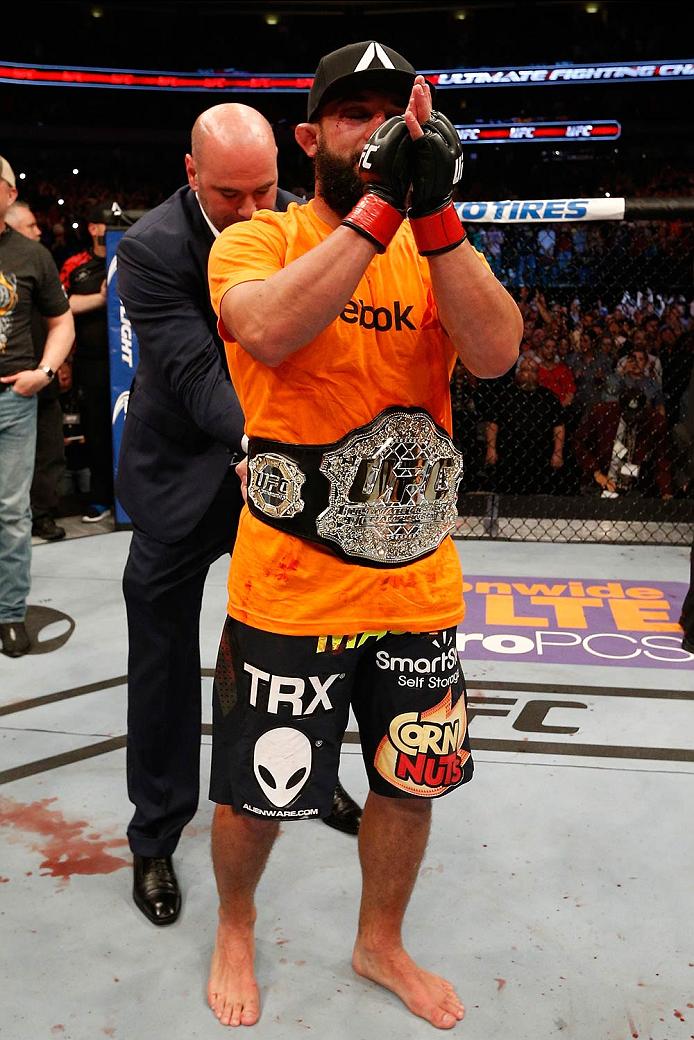 UFC welterweight champion Johny Hendricks