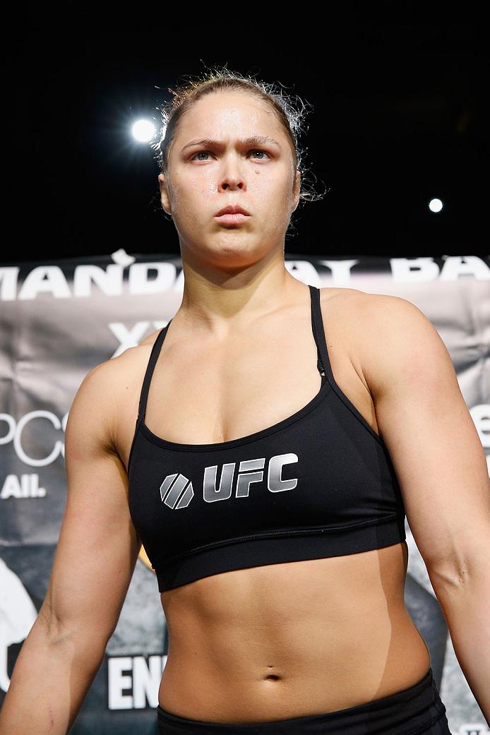 UFC women's bantamweight champion <a href='../fighter/Ronda-Rousey'>Ronda Rousey</a>