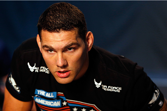 Chris Weidman Heroically Saved The Life of His Neighbor
