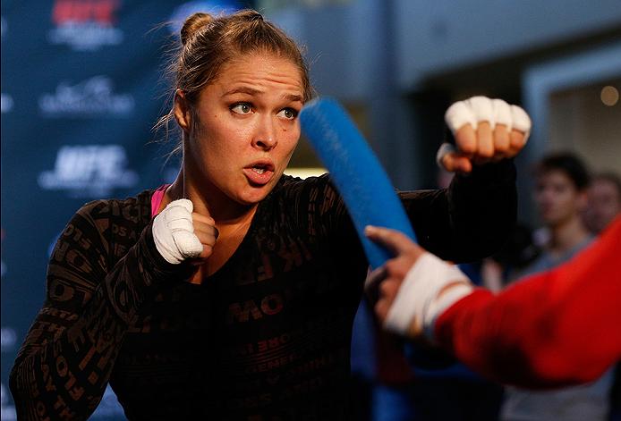 UFC womens bantamweight champion Ronda Rousey