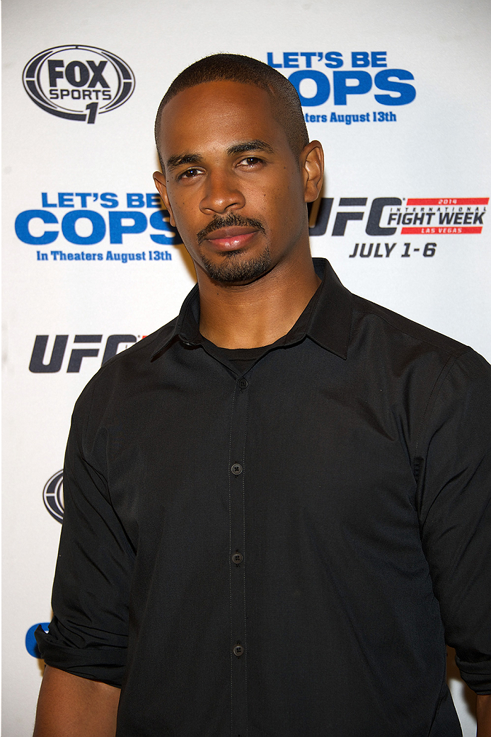 LAS VEGAS, NV - JULY 2:  Actor Damon Wayans Jr. arrives at the advanced screening of the Twentieth Century Fox film 'Let's Be Cops' during UFC International Fight Week at Brooklyn Bowl Las Vegas at The LINQ on July 2, 2014 in Las Vegas, Nevada. (Photo by Al Powers/Zuffa LLC/Zuffa LLC via Getty Images)