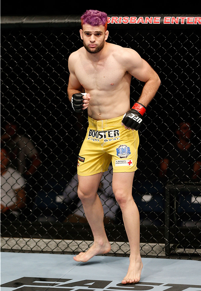 UFC lightweight Ben Wall