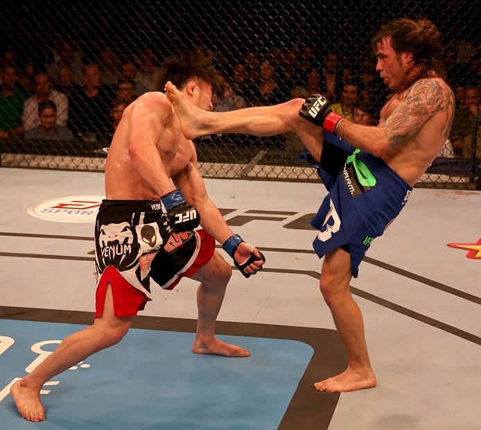 UFC featherweight Clay Guida