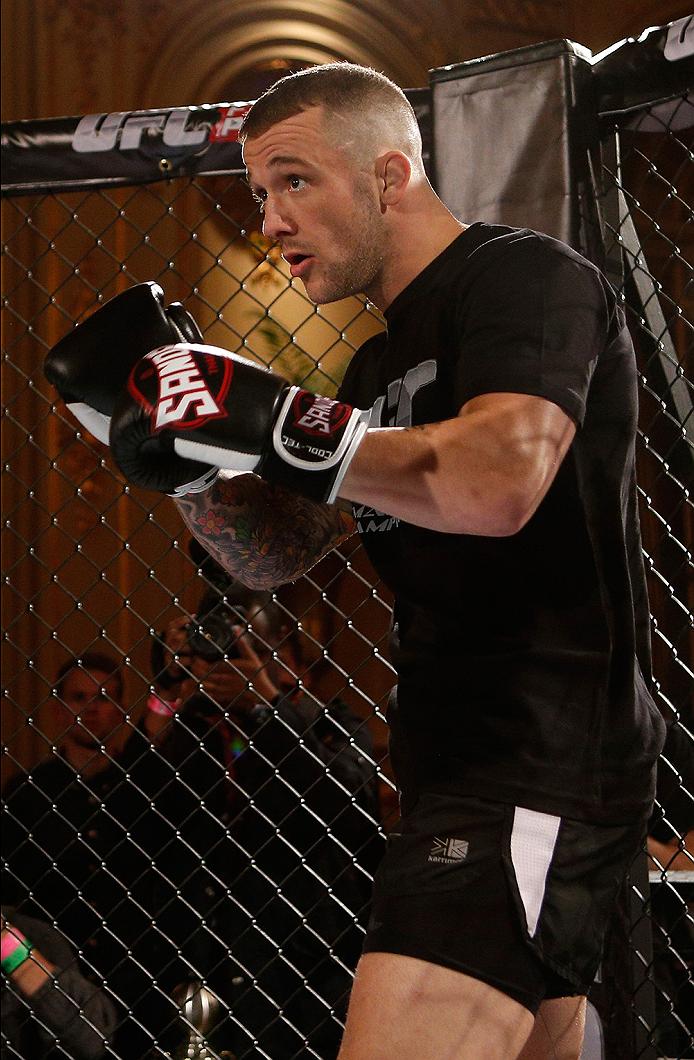Fotos dos treinos abertos do UFC Fight Night Estocolmo ...