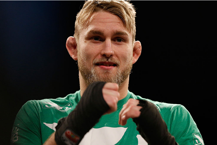 UFC light heavyweight Alexander Gustafsson