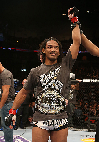 UFC lightweight champion Benson Henderson