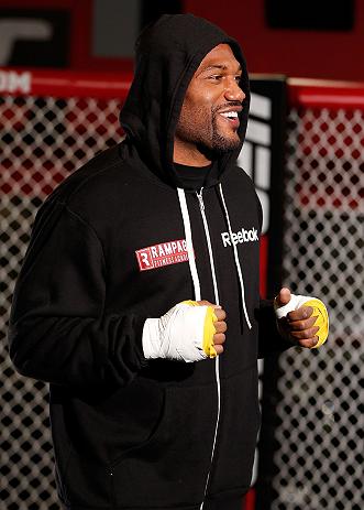 UFC light heavyweight Quinton &quot;Rampage&quot; Jackson