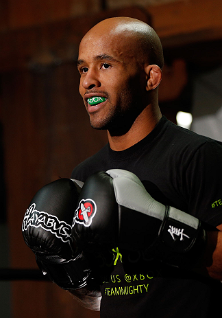 UFC flyweight champion Demetrious Johnson