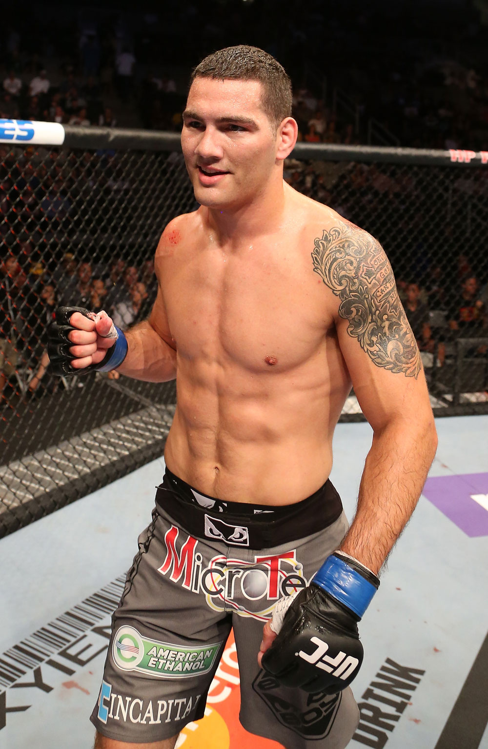 UFC middleweight contender Chris Weidman
