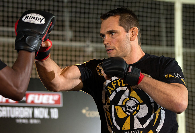UFC middleweight Rich Franklin