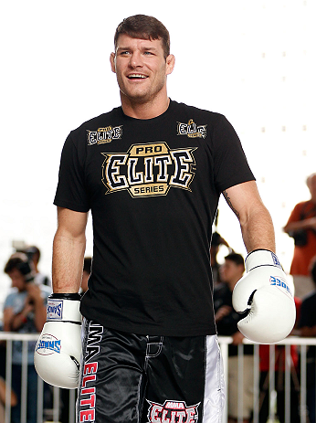 UFC middleweight Michael Bisping
