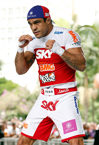 UFC middleweight Vitor Belfort