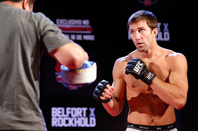 UFC middleweight Luke Rockhold