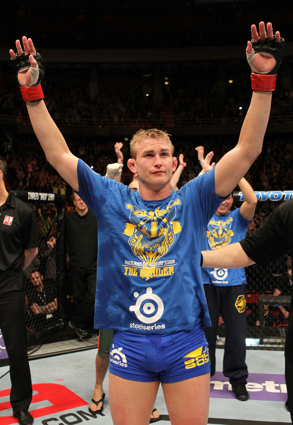Gustaffson buscará vencer a un top en UFC on FOX 5
