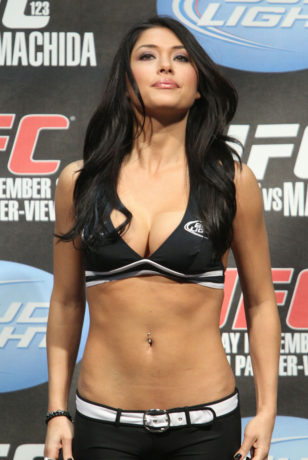Mma ring girls naked