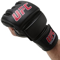 Black UFC MMA Training Glove