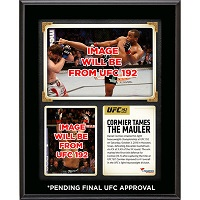 Daniel Cormier Ultimate Fighting Championship 10.5'' x 13'' UFC 192 And Still Light Heavyweight Champion Sublimated Plaque