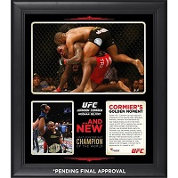 Daniel Cormier Ultimate Fighting Championship Framed 15'' x 17'' UFC 187 New Light Heavyweight Champion Collage