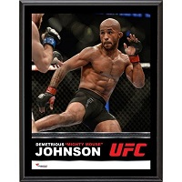 Demetrious Johnson Ultimate Fighting Championship 10.5'' x 13'' Sublimated Plaque