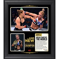 Holly Holm Ultimate Fighting Championship Framed 15'' x 17'' UFC 193 And New Women's Bantamweight Champion Collage