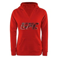 Juniors UFC Red Summer Chic Hoodie