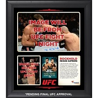 Luke Rockhold Ultimate Fighting Championship Framed 15'' x 17'' 15'' x 17'' UFC Fight Night Victory Over Lyoto Machida Champion Collage