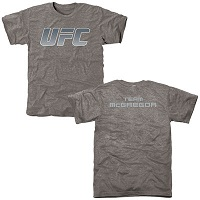Men's Ash Conor McGregor UFC The Ultimate Fighter Team McGregor Tri-Blend T-Shirt