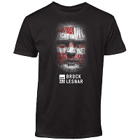 Men's Brock Lesnar Black UFC 200 Face T-Shirt