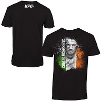 Mens Conor McGregor Black UFC 178 T-Shirt