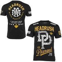 Mens Dustin Poirier HeadRush Black UFC 178 Walkout T-Shirt