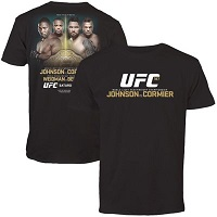 Men's Johnson vs. Cormier Black UFC 187 Event T-Shirt