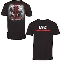 Mens Jones vs. Cormier Black UFC 182 Event T-Shirt