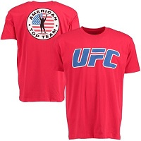 Men's Red American Top Team The Ultimate Fighter: American Top Team vs. Blackzilians Insignia T-Shirt
