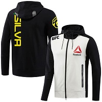 Men's Reebok Anderson Silva Black UFC Fight Night Hoodie